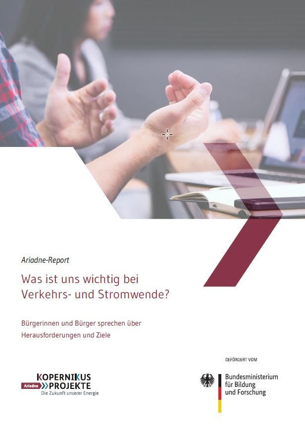 """Im Auftrag des Bundesministeriums für Bildung und Forschung (BMBF) werden im Forschungsprojekt """"Ariadne"""" Lösungen für eine praktikable und bezahlbare Verkehrswende in Deutschland entwickelt."""